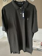 New Polo Classic Fit Shirt. Pima Sort Touch. Avery Heather Size Xl.