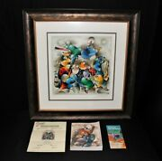 David Schluss Orchestra Pop Freedom Limited Edition Serigraph And Book Signed
