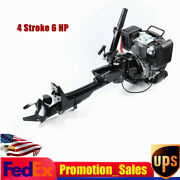 4 Stroke 6 Hp Outboard Petrol Engine Motor Fishing Boat Kayak Air Cooling System