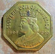 Scarce Medal From The 1904 Louisiana Purchase Expo In St. Louis 891