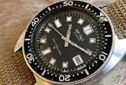 Seiko First Semester Second Diver 6105-8000 Oh Already Automatic Winding Machine