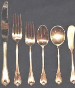 Wallace Grand Colonial Sterling Flatware Set For 8 Great Shape All Matching