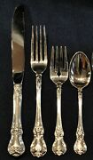 Towle Old Master Sterling Silver Place Size Set For 8 With 10 Servers
