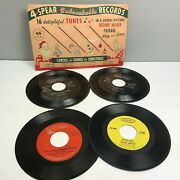 Vtg 45 Rpm Records Epic Dave Clark Five Twin Pianos Spear Unbeakable Christmas