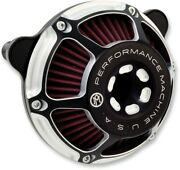Performance Machine Max Hp Air Cleaner Contrast Cut Harley Milwaukee Eight 17-up