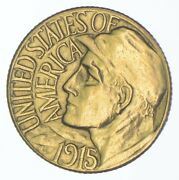 1915-s 1 Panama-pacific Exposition Gold Dollar 2326
