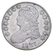 1827 Capped Bust Half Dollar 2136