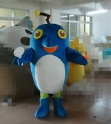 Blue Fish Mascot Costume Suits Cosplay Party Game Dress Outfits Christmas Adults