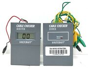 Voltcraft Cable Checker Receiver And Signal Sending Indicator