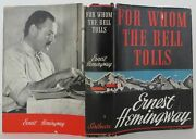 Ernest Hemingway / For Whom The Bell Tolls Signed 1st Edition 1940 1907108