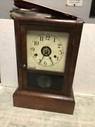 Antique Seth Thomas 8 Day Cottage Mantle Clock Not Running