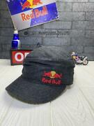 New Era Red Bull Athletes Only Women Gray Work Cap Hat Limited One Size