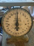 1930's Top End Model American Family Kitchen Scale Fully Functional No Bends