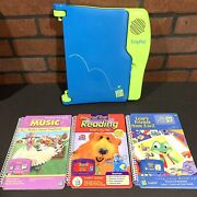 Leappad Learning System By Leap Frog With 3 Books 3 Cartridges Magic Pen Tested