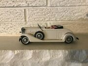 Rare Vintage Bandai 1933 Cadillac White Convertible Friction Roadster Auto Toy