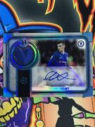 2019 Topps Museum Collection Mason Mount Chelsea Patch Auto /75 Rc Rookie Rpa🔥