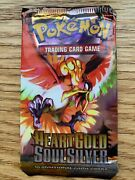Pokemon Heart Gold Soul Silver Base Set Booster Pack Ho-oh - New And Sealed