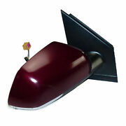 Vw Polo 9n3 Mirror Right Outside Mirror Electric Lc3r Winterred Pearl Effect