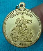 Rex 2011 .925 Sterling Silver Doubloon Charm A254