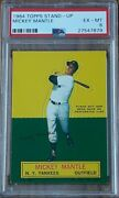 1964 Topps Stand-up Mickey Mantle...psa 6...ex-mt...high End
