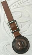 Taft And Sherman 'our Choice' Campaign Medal Watch Fob W/strap Amazing Condition