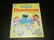 Dominoes Sesame Street Whitman Publishing 1980 Excellent Condition