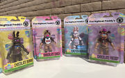 Five Nights At Freddyandrsquos Easter Action Figures Pack 4 Fnaf