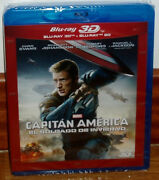 Captain America The Soldier Of Winter Combo Blu-ray 3d + Blu-ray New Sealed