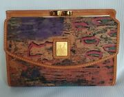 Painting On Canvas And Leather Wallet By Vincent Van Gogh Of Paris And Amsterdam