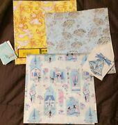 Boxed Lot Vintage Wrapping Paper Wedding Baby Birthday Unused Gift Wrap Sheets