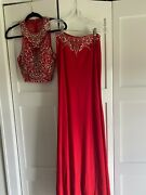 Prom/ Formal Dress Size 4. Two-piece. In Great Condition