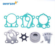 Water Pump Impeller Kit 6j8-w0078-00 For 4t F15 F30 Yamaha Outboard 6j8-w0078-a2