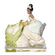 Jim Shore Disney Traditions - White Woodland The Princess And The Frog - Tiana