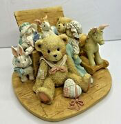 Cherished Teddies Christopher 950483 Old Friends Are The Best Friends