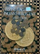 Indian Head Cent Starter Collection W/ New H.e. Harris Folder W/12 Ihcand039s