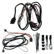 Western Snow Plow Light And Control Harness Kit 61545