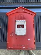 Vintage Gamewell Fire Station Alarm Call Box Complete W Internal Mechanism
