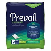 Prevail Disposable Underpads Fluff 23x36 Up-150 120 Pads
