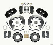 Wilwood Dynapro 6 Front Hat Kit 12.19in For 2012 Fiat 500 W/ Lines - Wil140-1276