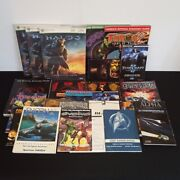 For Sale Lot Of 22 Manuals And Guides Homeworld Cataclysm Starcraft Halo 3