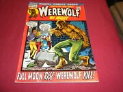 Ma1 Werewolf By Night 1 Marvel 1972 Bronze Age 5.5/fn- Comic 1st Solo Series