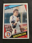 1984 Topps John Elway Rookie Card Rc 63 Gorgeous Rare Look