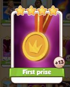 First Prize Coin Master Card 13 For Sale Get Them While They Last 1=3
