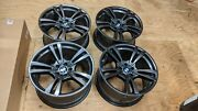 Dark Gray 20andrdquo Bmw X5m Oem Wheels Genuine Style 299 X5 X6 E70 E71