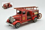 Vintage So Prairie Fire Dept All Metal Model 1931 Collectible Artwork Statue