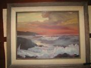 Georges Briard Signed Orig. Oil On Canvas