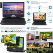 14 Inch Portable Blu-ray Dvd Player For Car Full Hd 1080p With Hdmi Output And I