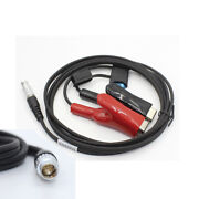 Chc Gps Gnss X900 Power Cable 10 Pin To Car Battery Alligator Clips A00903 1.8m