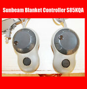 Sunbeam Dual Zone 4-prong Electric Warming Blanket Controller S85kqa Pac-449-1