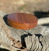Australian Crafted Blackwood Cheese Board / Display Stand / Candle Holder / 19cm
